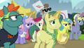 Reporter Pony appears out of the crowd S7E14.png