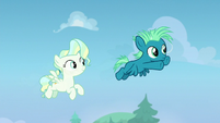 Sky and Vapor fly together for the first time S6E24
