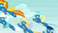 The Wonderbolts finish their routine S6E7.png