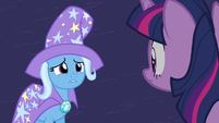 Trixie wearing that Alicorn amulet S3E5