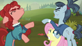 Hooffield and McColt mares about to fight S5E23.png
