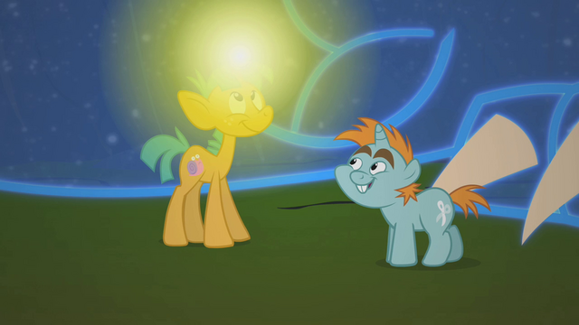 File:Snails' horn glows S01E06.png