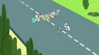 Pegasi about to fly S3E07