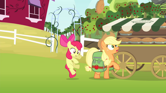 File:Apple Bloom accidentally hits Applejack S4E17.png