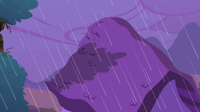 File:Scorched tree leans toward Ponyville house S1E08.png