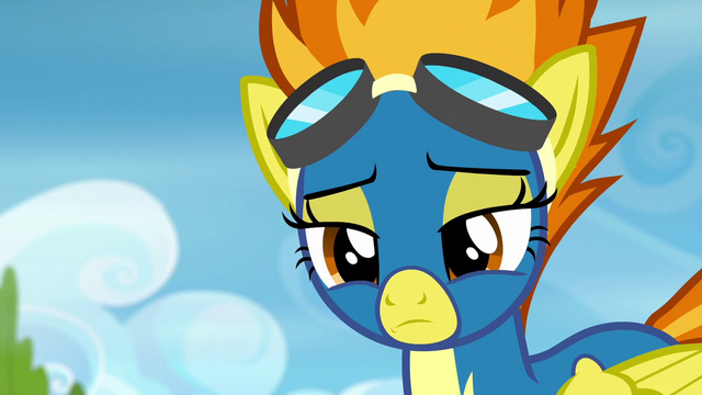 File:Spitfire shakes her head in disappointment S6E7.png