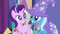 Starlight and Trixie filled with pride S7E1