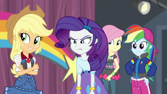 File:Equestria Girls looking at Pinkie Pie EGS1.png