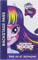 Twilight Sparkle Equestria Girls Rainbow Rocks Backstage pass