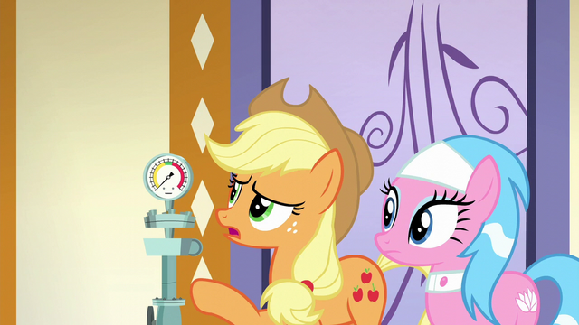 "File:Applejack ""if you're not gettin' enough steam"" S6E10.png"