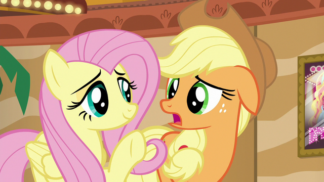 "File:Applejack ""well, of course that's true"" S6E20.png"