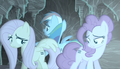 Fluttershy, Rainbow, and Pinkie cutie unmarked S5E1.png