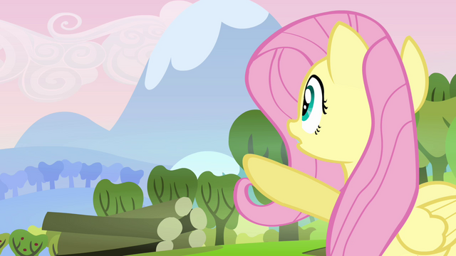 "File:Fluttershy ""there's a big mess"" S03E10.png"
