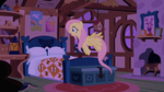 Fluttershy shocked because the CMC are gone S1E17