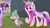 "Princess Cadance ""we can't turn back time"" S4E24"