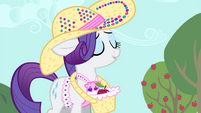 Rarity 'Thank you' S4E13