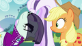 Countess Coloratura accuses Applejack of jealousy S5E24.png