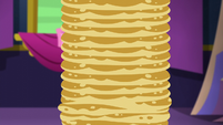 High stack of pancakes S5E3