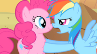 "Rainbow Dash ""And the more of us there are out here"" S1E21"