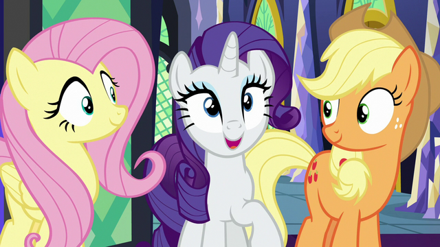 """File:Rarity """"we certainly had a good time"""" S7E2.png"""