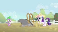 Spike 'why do you want to plow a field' S4E13