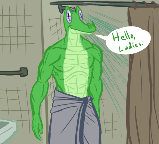 File:FANMADE Spike hello ladies.png
