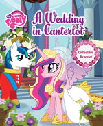 MLP A Wedding in Canterlot storybook cover