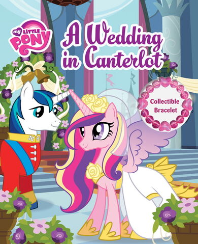 File:MLP A Wedding in Canterlot storybook cover.jpg