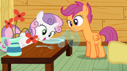 Sweetie Belle Eating Invisible Food S3E4
