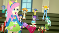 """Fluttershy and students cheer """"Yay!"""" again SS4.png"""