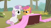 Scootaloo totally using that S1E18