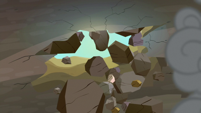 File:Cave ceiling breaks apart S7E4.png