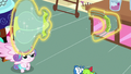 Flurry Heart splits balloon toy into two pieces S7E3.png