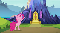 Pinkie explains how the castle appeared S7E4