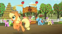 Applejack wins S02E15