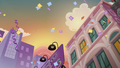 Manehattan at sunset with raining confetti S6E3.png