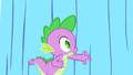 Spike reaching for the curtain S01E24.png