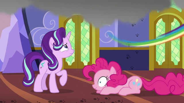 File:Rainbow Dash zooms out of the castle S6E21.png