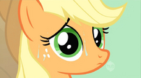 Applejack sweaty S02E14