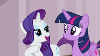 "Rarity ""escape all of your troubles"" S7E2"