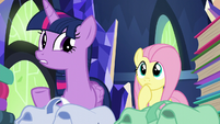 "Twilight Sparkle ""there are a lot of books"" S5E23"