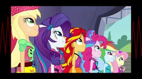 European Portuguese Equestria Girls Rainbow Rocks Shine Like Rainbows HD