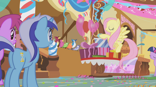 File:Fluttershy's bird choir S1E05.png