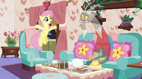 """Fluttershy """"you're a creature of pure chaos!"""" S7E12"""