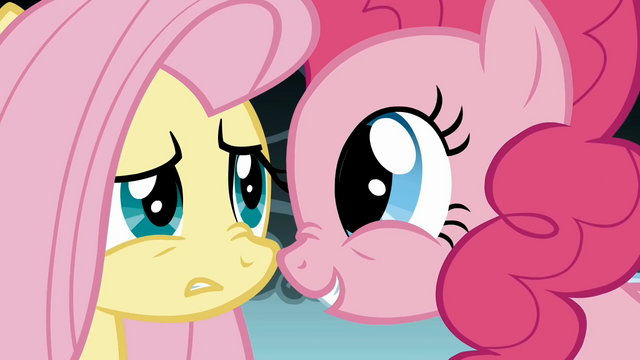 File:Fluttershy is unconvinced by Pinkie S1E7.png