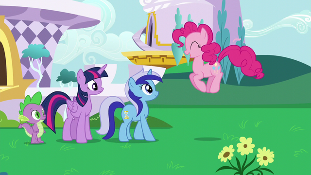 "File:Pinkie ""you didn't say Minuette would be here!"" S5E12.png"