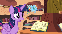 "Twilight ""if we didn't tell Pinkie Pie"" S4E18"