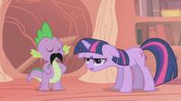 Twilight utterly exasperated S1E06