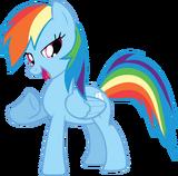 FANMADE proud Rainbow Dash vector