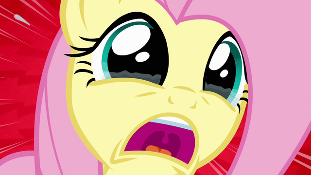 File:Fluttershy shrieks in horror S4E03.png